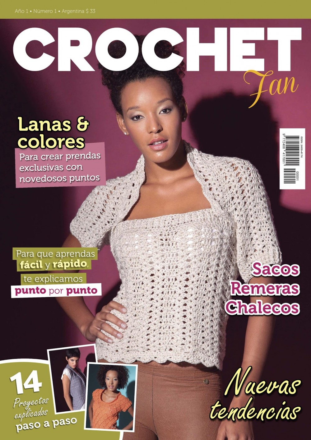 Журнал «Crochet Fan» ano1 №o1 2015г