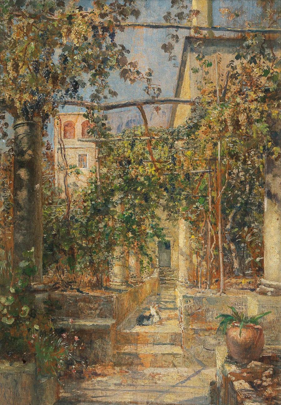 Marie_Egner_-_Klosterhof_in_Capri.jpg